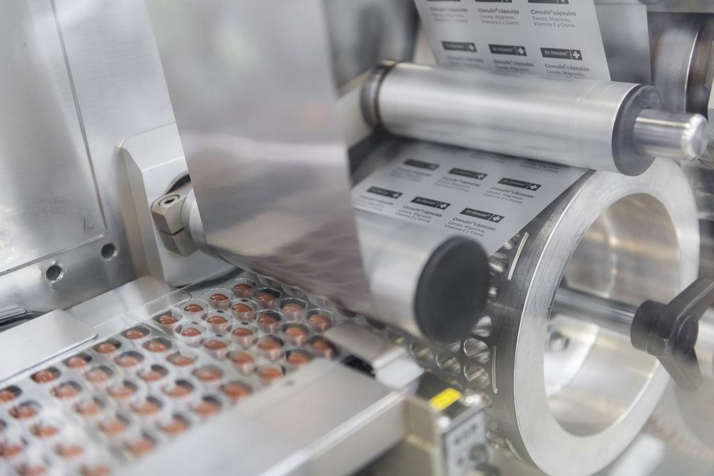 Blistering Weichkapseln und Hartkapseln in Lohnherstellung